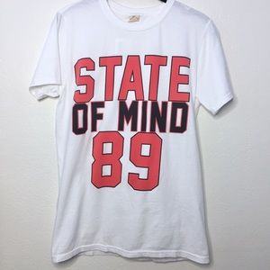 NWT Urban Outfitters State of Mind Graphic Tee